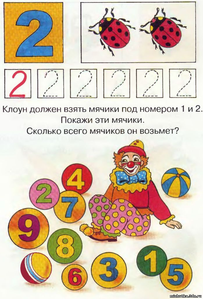 Картинки Знакомство Малышей С Цифрами